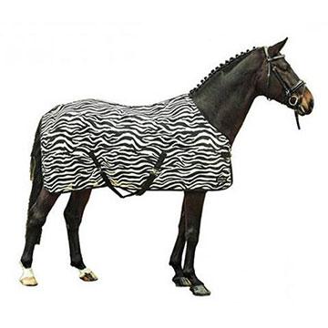 Derki siatkowe dla koni - ochrona przed owadami